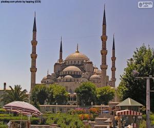 Puzzle de Mezquita Azul, Turquía