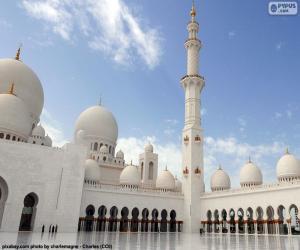 Puzzle de Mezquita Sheikh Zayed, Abu Dabi
