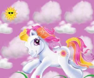 Puzzle de Mi pequeño pony corriendo