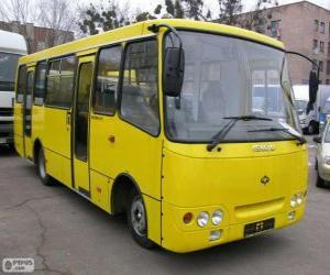 Puzzle de Microbús Isuzu Bogdan A092
