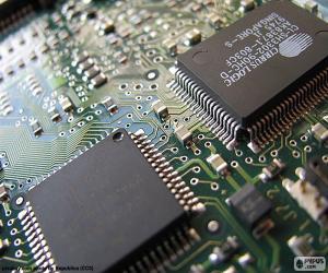 Puzzle de Microprocesador