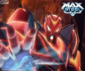 Puzzle de Miles Dredd, el mayor enemigo de Max Steel