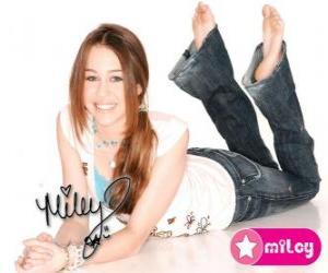 Puzzle de Miley Cyrus