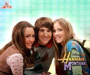Puzzle de Miley Stewart y sus amigos