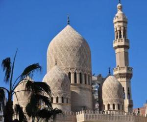 Puzzle de Minaretes o Alminares, las torres de la mezquita
