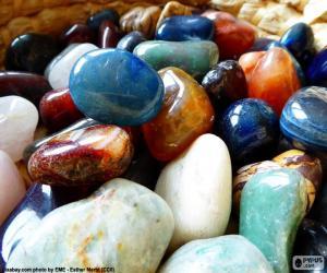 Puzzle de Minerales diversos