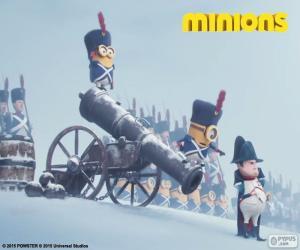 Puzzle de Minions y Napoleón