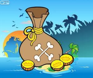 Puzzle de Monedas de oro