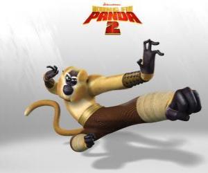 Puzzle de Mono es acrobático, juguetón, cómico, impredecible, rápido y energético.