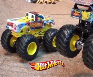 Puzzle de Monster Jam de Hot Wheels