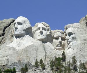 Puzzle de Monte Rushmore, USA