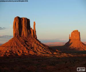 Puzzle de Monument Valley, Estados Unidos
