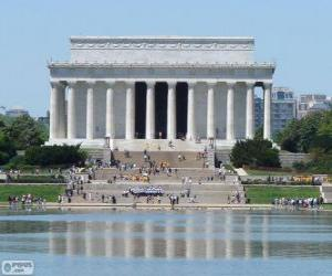 Puzzle de Monumento a Lincoln, Washington, Estados Unidos