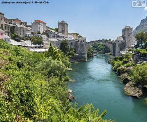Puzzle de Mostar, Bosnia y Herzegovina