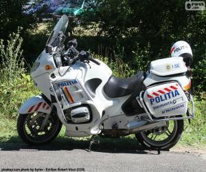 Puzzle de Moto de policía, Rumania