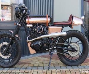 Puzzle de Motocicleta personalizada