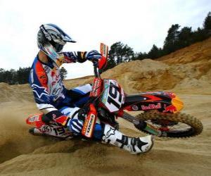 Puzzle de Motocross