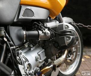 Puzzle de Motor bóxer BMW