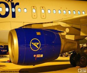 Puzzle de Motor de un avión