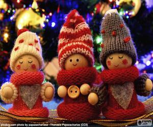 Puzzle de Muñecos de Navidad