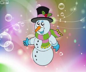 Puzzle de Muñeco de nieve