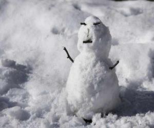 Puzzle de Muñeco de nieve pequeño