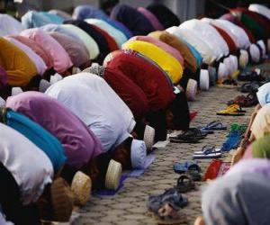 Puzzle de Musulmanes orando