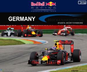 Puzzle de M.Verstappen GP Alemania 16