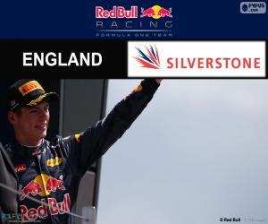 Puzzle de M.Verstappen GP G.Bretaña16