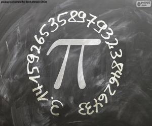 Puzzle de Número π (pi)