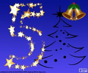 Puzzle de Número 5, Navidad