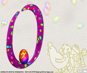 Puzzle de Número cero de Pascua