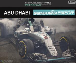 Puzzle de N. Rosberg, GP Abu Dhabi 16