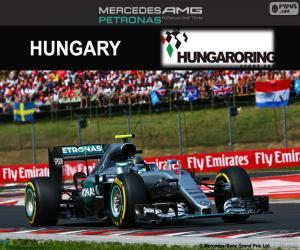 Puzzle de N. Rosberg GP Hungría 2016