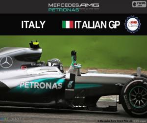 Puzzle de N. Rosberg, G.P Italia 2016