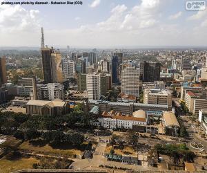 Puzzle de Nairobi, Kenia