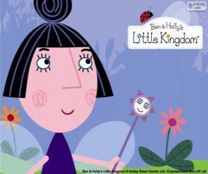 Puzzle de Nana Ciruela es la ama de llaves del pequeño castillo, hechicera, maestra y la mejor amiga adulta de la Princesa Holly