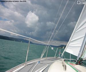 Puzzle de Navegar en un velero