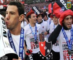 Puzzle de Newell's Old Boys, Campeón del Torneo Final 2013, Argentina