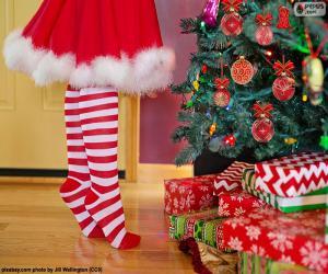 Juegos De Puzzles De Ninos Y Ninas En Navidad
