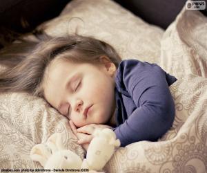 Puzzle de Niña durmiendo