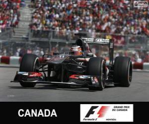 Puzzle de Nico Hulkenberg - Sauber - Circuit Gilles Villeneuve, Montreal, 2013