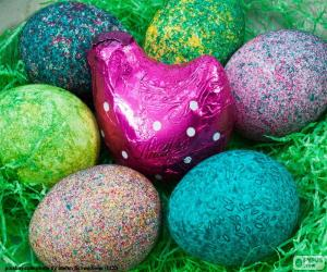Puzzle de Nido de Pascua