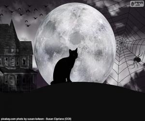 Puzzle de Noche de Halloween