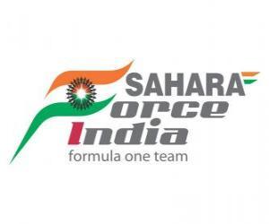 Puzzle de Nuevo logo Force India 2012