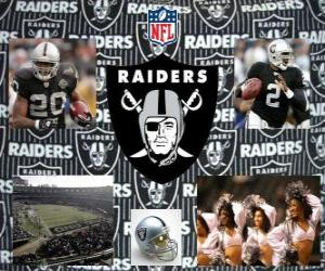 Puzzle de Oakland Raiders