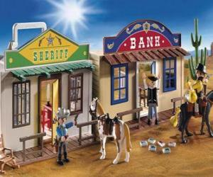 Puzzle de Oeste americano de Playmovil