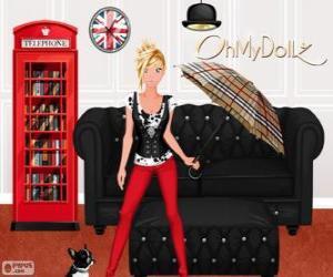Puzzle de Oh My Dollz Londres