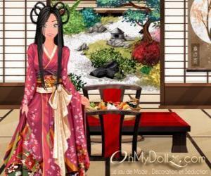 Puzzle de Oh My Dollz oriental