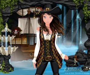 Puzzle de Oh My Dollz pirata
